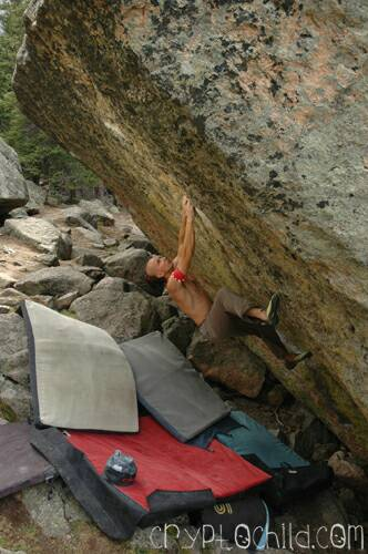 No More Greener Grass V12 Mt Evans- Photo Caroline Treadway