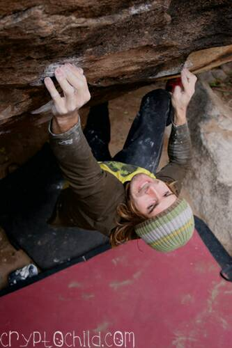 Chris Sharma Full Monty V12 Photo Brett Lowell
