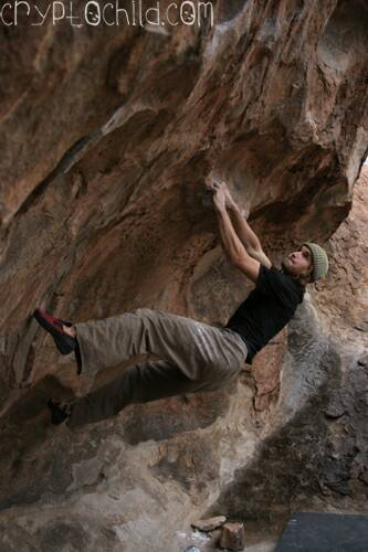 Chris Sharma Full Power V11 Photo Brett Lowell