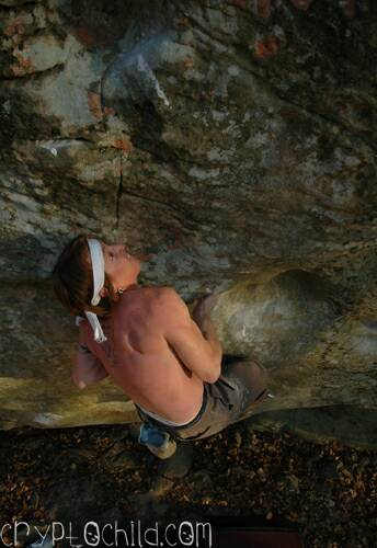 Mike Auldridge, Brown Recluse V10 Photo Caroline Treadway