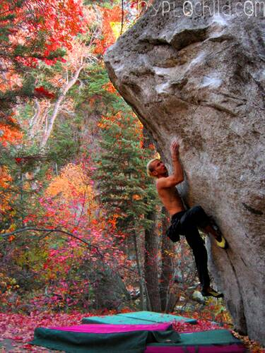 Bronson Aret V9, Little Cottonwood, Photo Jenn Walsh