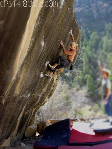 Wills of Fire V7, Photo Jenn Walsh
